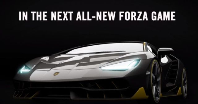 Lamborghini Centenario New Forza 6 Cover Car