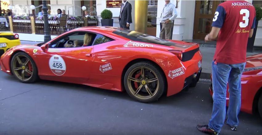 Ferrari crash caught of tape-1