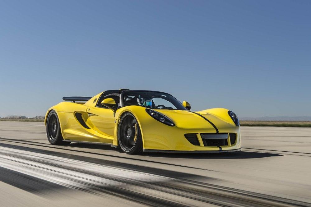 Hennessey Venom GT Spyder World Record-3