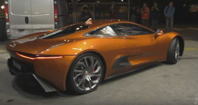 Jaguar C-X75 from Spectre at Top Marques 2016