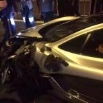 McLaren P1 crashed in China-5