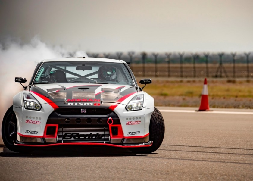 Nissan GT-R World Record for Fastest Drift-1