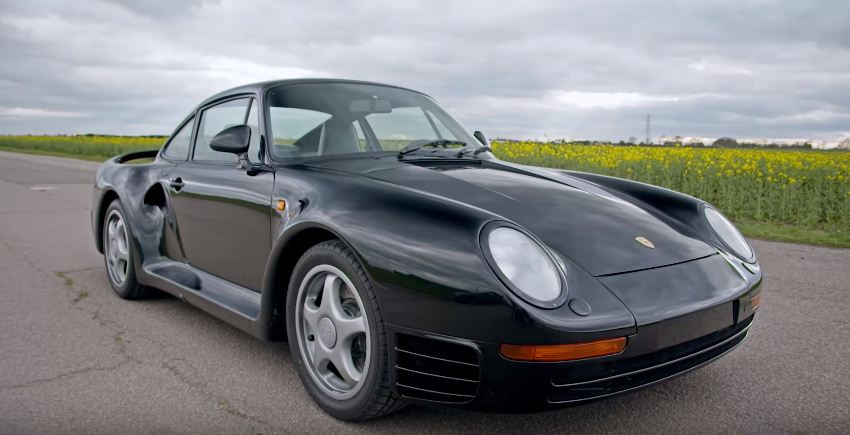 A brief history of the Porsche 959