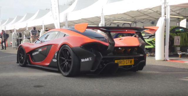 First road-legal Mclaren P1 GTR in the UK