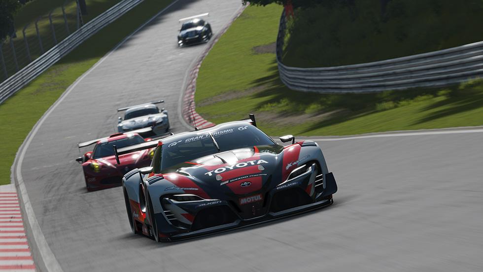 Gran Turismo Sport on PS4- Nurburgring