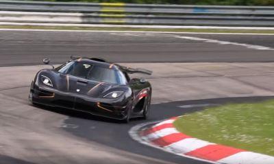 Koenigsegg One-1 gunning for Nurburgring lap record
