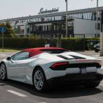 Lamborghini Huracan Spyder LP580-2 spy shots-1