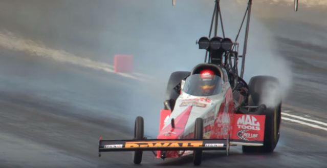 NHRA Top Fuel Dragster Drift