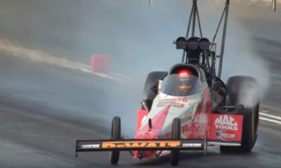 NHRA Top Fuel Dragster Drift