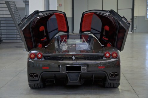 Bare Carbon Fiber Ferrari Enzo For Sale-10