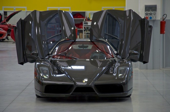 Bare Carbon Fiber Ferrari Enzo For Sale-7