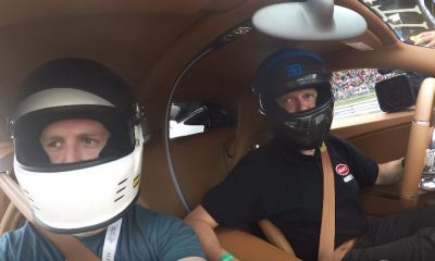 Car Throttle onboard for First ever Bugatti Chiron passenger ride
