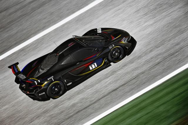 James Hunt tribute McLaren P1 GTR-2016 Goodwood Festival of Speed