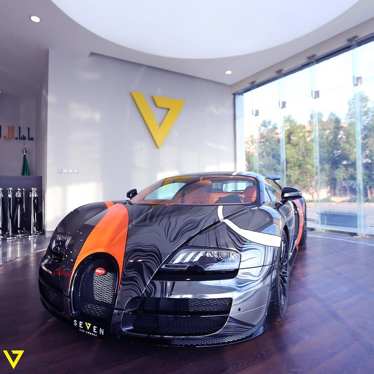Absurdly Wrapped Bugatti Veyron Super Sport For Sale In: Stunning Bugatti Veyron Super Sport For Sale