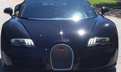 Cristiano Ronaldo's Bugatti Veyron Grand Sport Vitesse- Black Carbon Edition-1