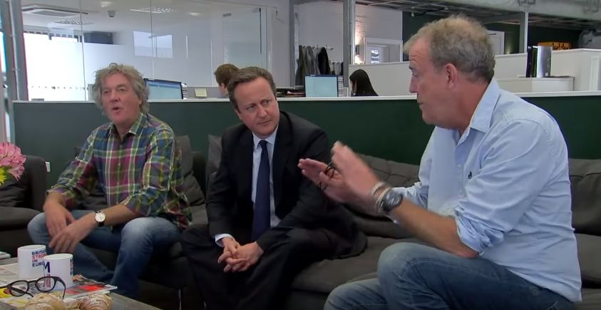 Jeremy Clarkson, James May discuss BREXIT with Cameron