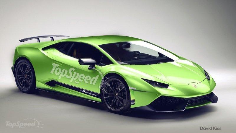 Lamborghini Huracan Superleggera rendering