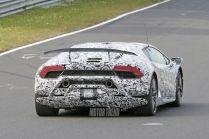 Lamborghini Huracan Superleggera spy shots-2
