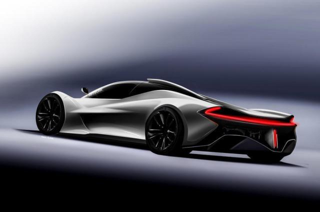 McLaren F1 successor rendering by Autocar-1