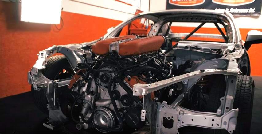 Ryan Tuerck teases Ferrari-powered Toyota GT86