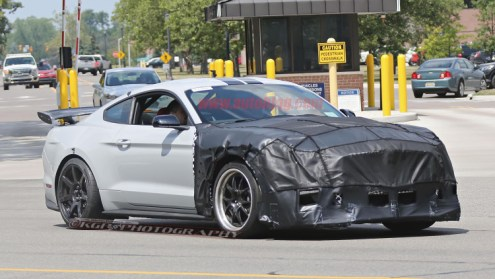Ford Shelby Mustang GT500 spy shots-2