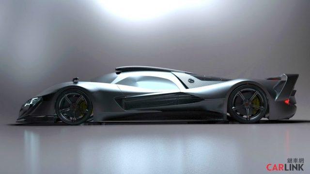 Mercedes-AMG R50 Hypercar Rendered