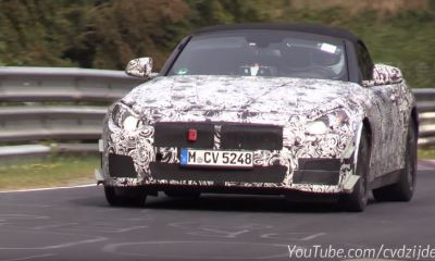 2018-bmw-z5-makes-nurburgring-debut