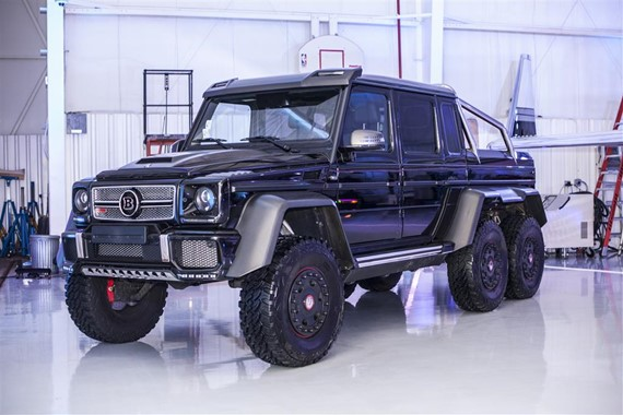 mercedes benz brabus g63 6x6 for sale in the us. Black Bedroom Furniture Sets. Home Design Ideas