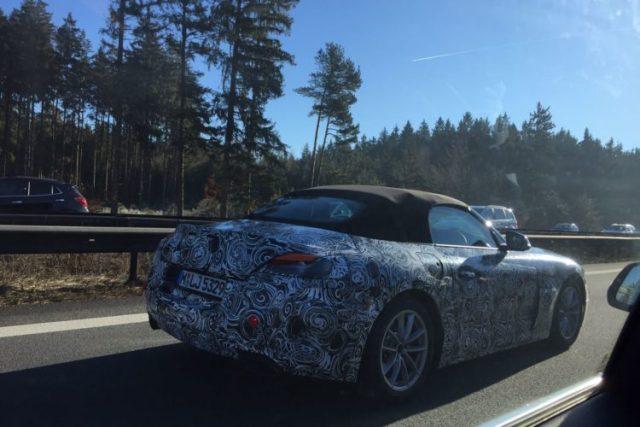 2018 BMW Z5 Prototype- Z4 Roadster spy shots-1