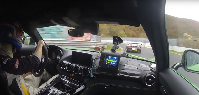 Mercedes-AMG GT R laps Nurburgring