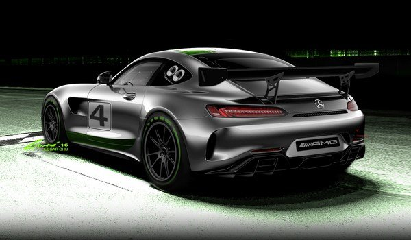 Mercedes-AMG GT4 Race Car-1