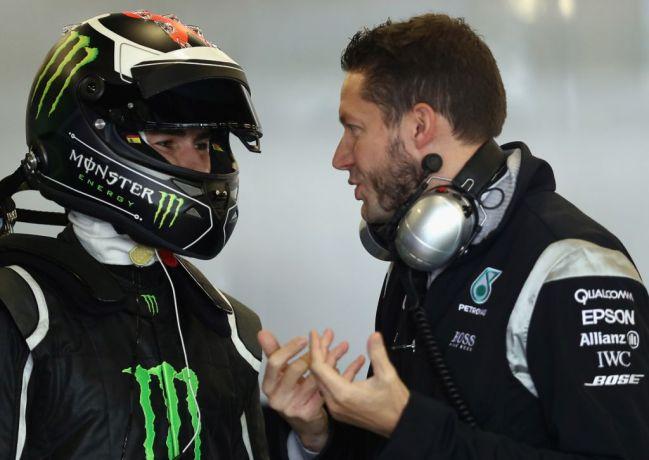 MotoGP champ Jorge Lorenzo tests Hamilton's Mercedes-AMG F1 car-4