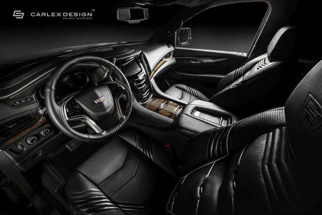2016 Cadillac Escalade Platinum by Carlex Design-1