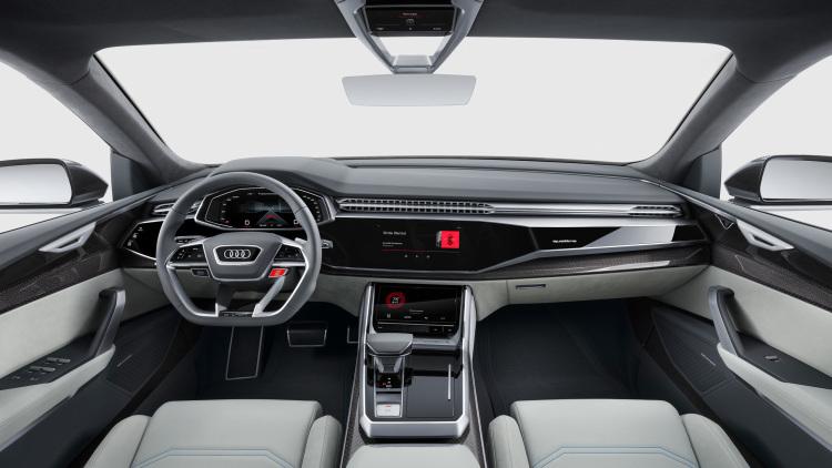 2017 Audi Q8 SUV Concept-2017 Detroit Motor Show-7