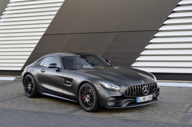 2017 Mercedes-AMG GT C Edition 50- Detroit Motor Show-1