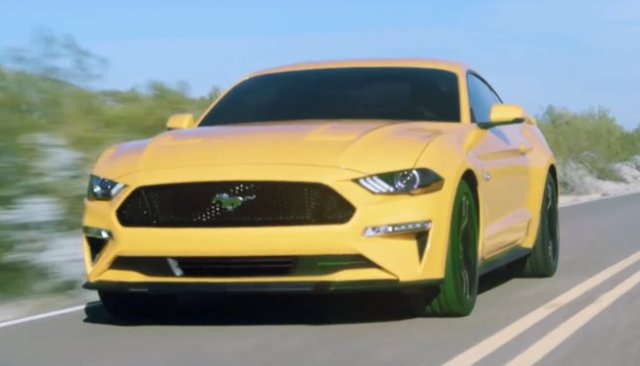 2018 Ford Mustang Facelift-leaked video-1