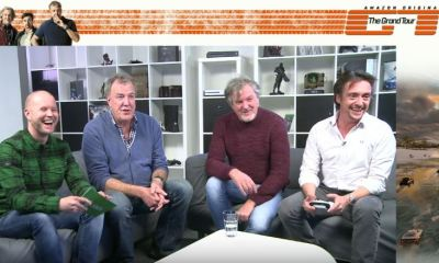 The Grand Tour hosts play Forza Horizon 3 on XBox One