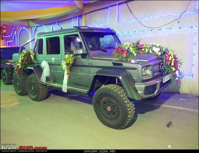 Brabus G63 AMG 6X6-India-wedding car-1