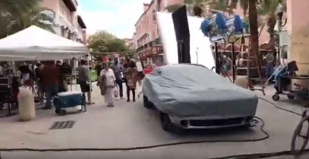 Dodge Demon- Pitbull Hey Mama music video shoot- Miami