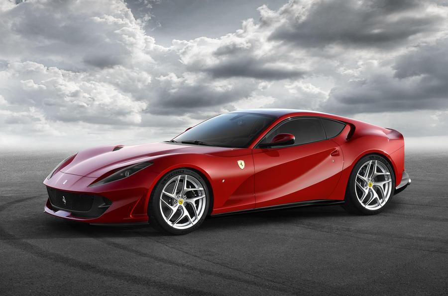2017 Geneva Motor Show: Ferrari 812 Superfast