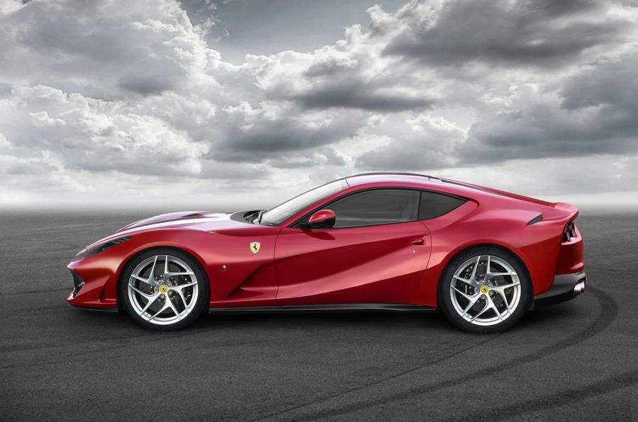 Ferrari 812 Superfast-2017 Geneva Motor Show-2
