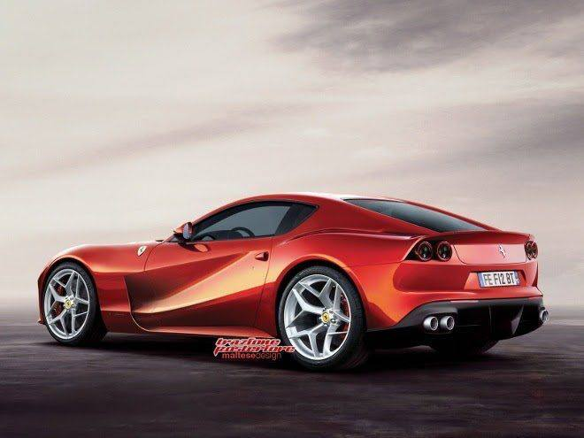 Ferrari F12 Replacement- F12M- Rendering-2