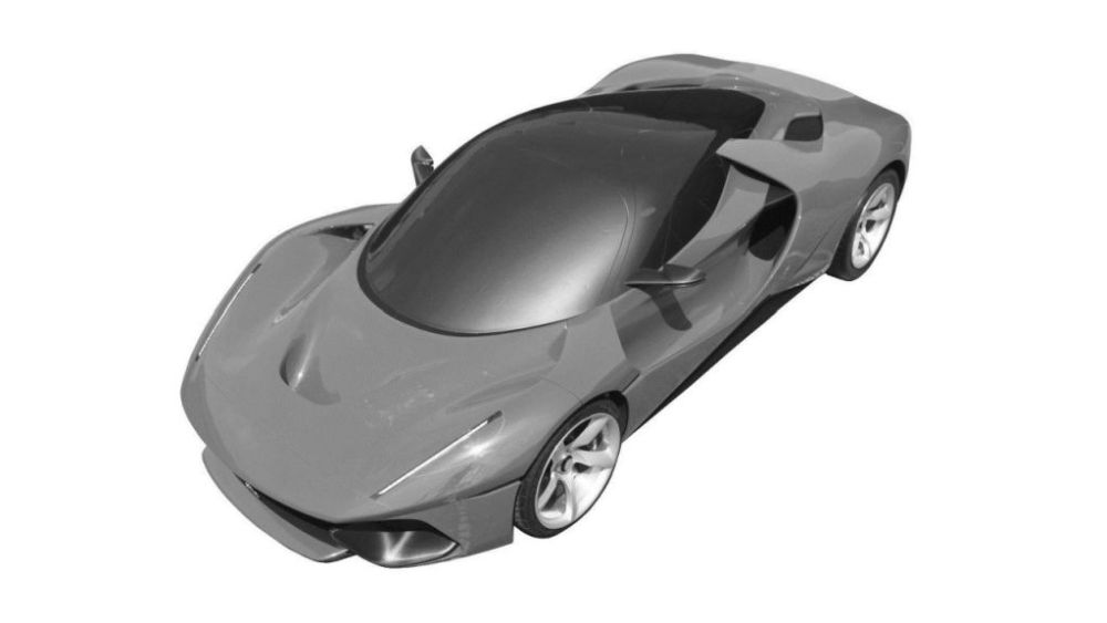 Ferrari megacar-LaFerrari replacement-patent images-1