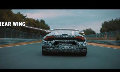Lamborghini Huracan Performane active aero