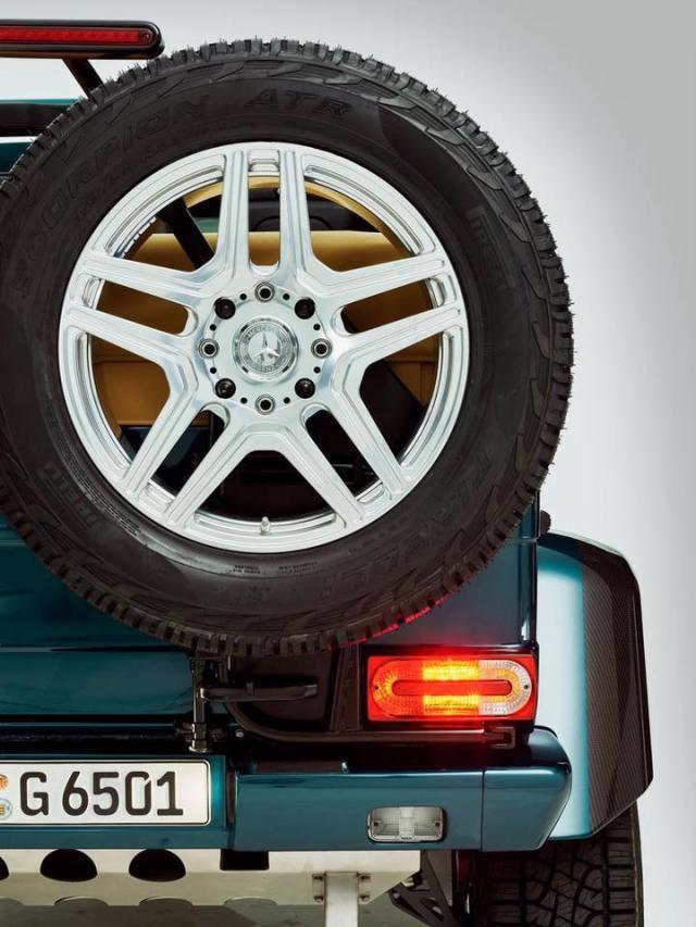 Mercedes-AMG G65 4x4 Sqaured Convertible-Landaulet- Geneva Motor Show