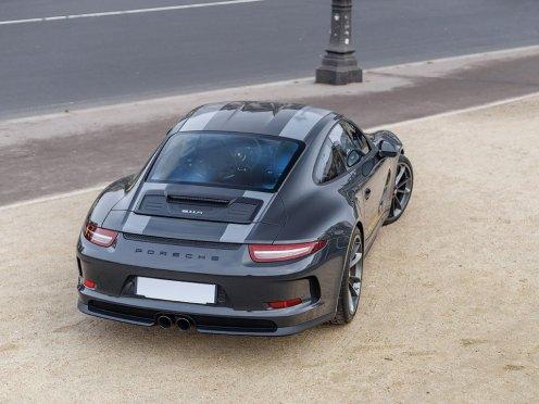 Porsche 911 R Steve McQueen Edition-Slate Grey-RM Sothebys Auction-2