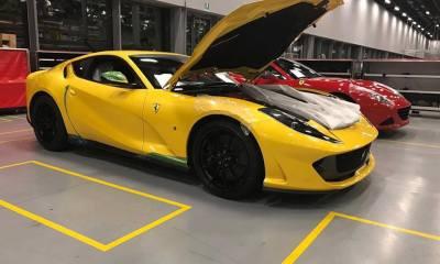 Yellow 812 Superfast-Ferrari factory-Leaked image-6