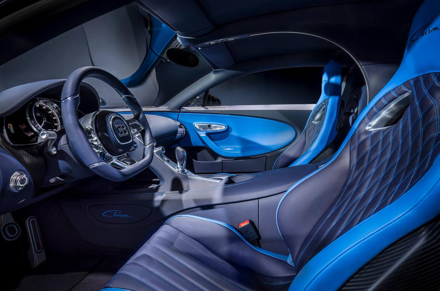Bleu Royal Bugatti Chiron-2017 Geneva Motor Show-3