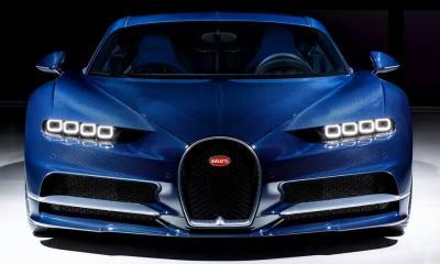 Bleu Royal Bugatti Chiron-2017 Geneva Motor Show-4