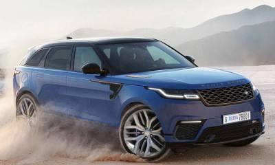 Range Rover Velar SVR rendering